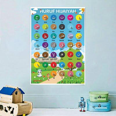 Mainan Anak Edukatif_Poster Pendidikan_Poster Belajar Hijaiyah 02