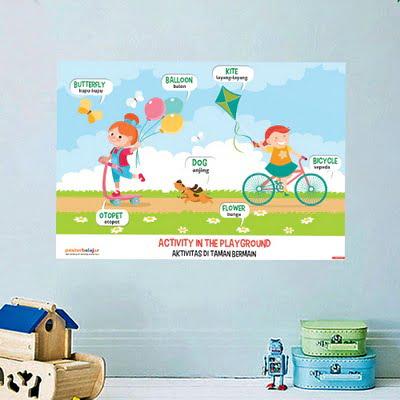 Mainan Anak Edukatif_Poster Pendidikan_Poster Belajar Kegiatan Tipe 08