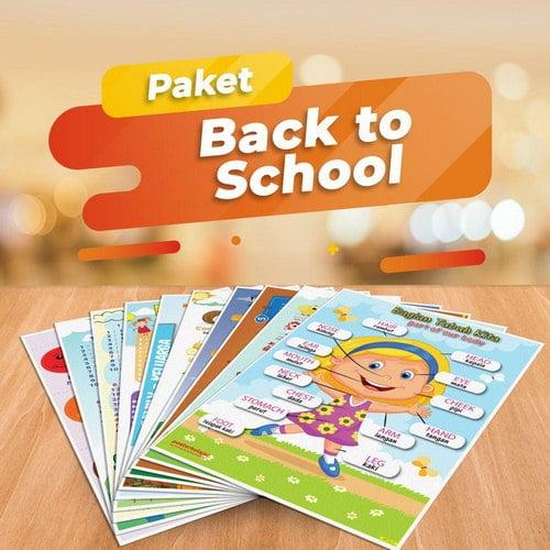 Paket Poster Belajar Back To School