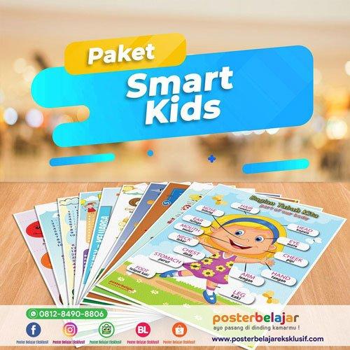 Paket smart kids poster belajar