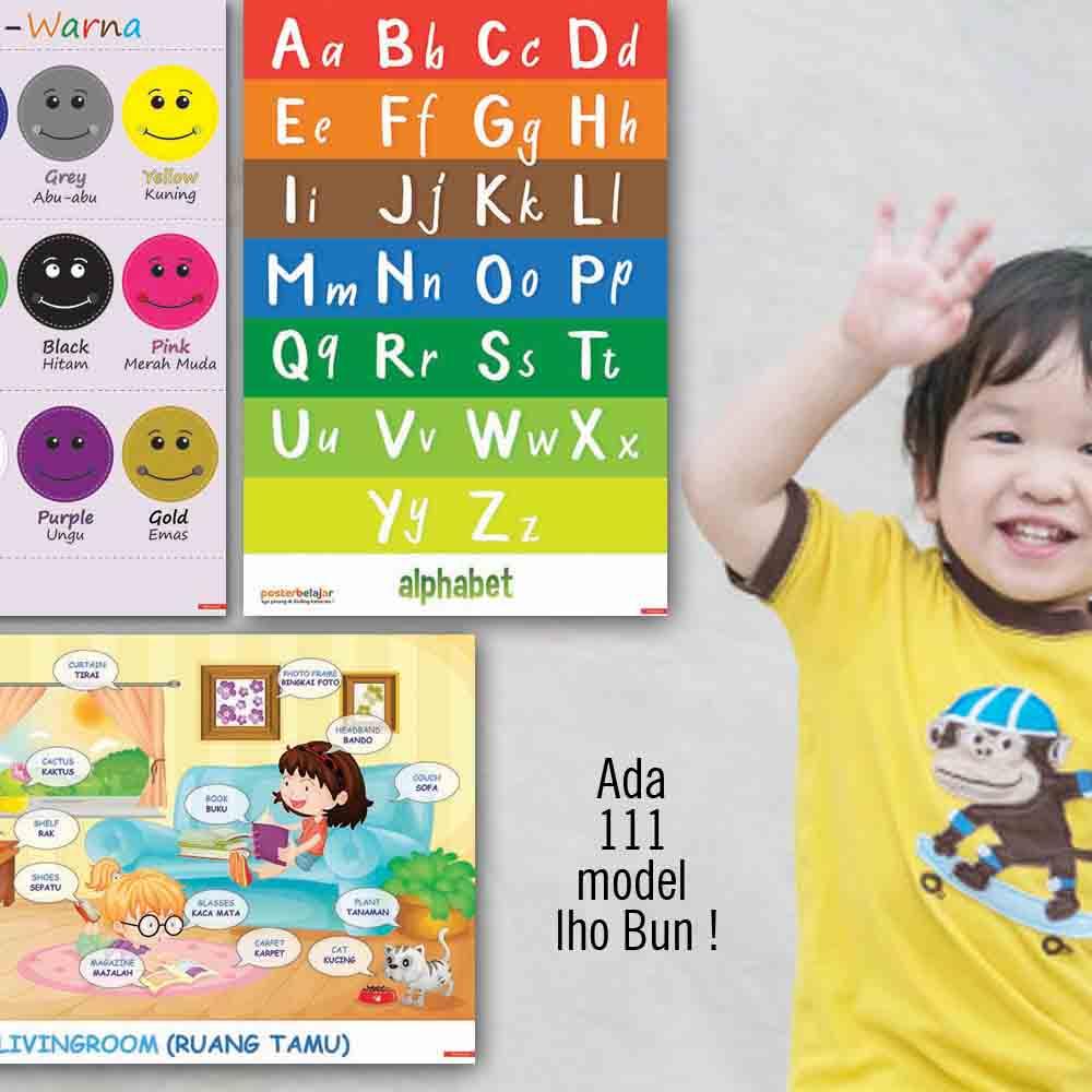 kenapa 3 POSBEL poster belajar pendidikan mainan anak edukatif edukasi