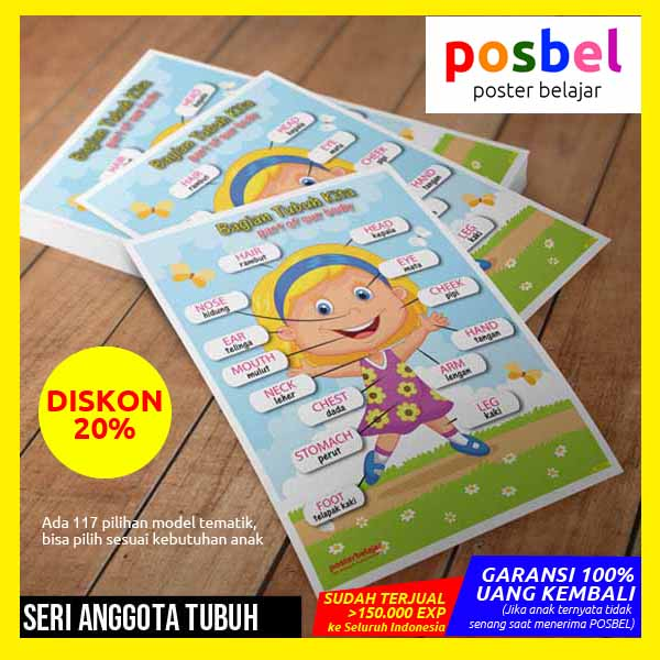 r6 value IKLAN RT CTW posbel poster belajar mainan edukasi edukatif alat peraga pendidikan anak