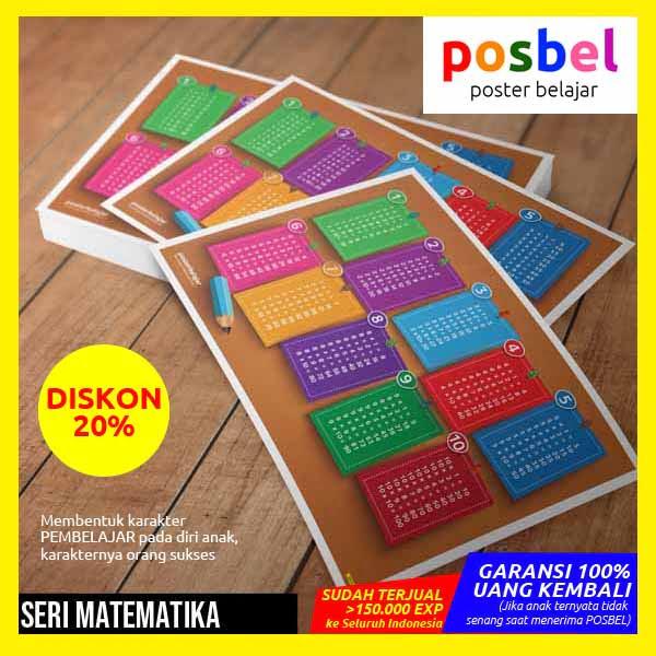 r8 value IKLAN RT CTW posbel poster belajar mainan edukasi edukatif alat peraga pendidikan anak