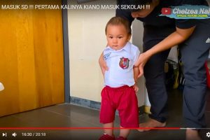 #BeritaSelebriti : 10 Momen Paling Nggemesin dari Video Kiano Masuk SD