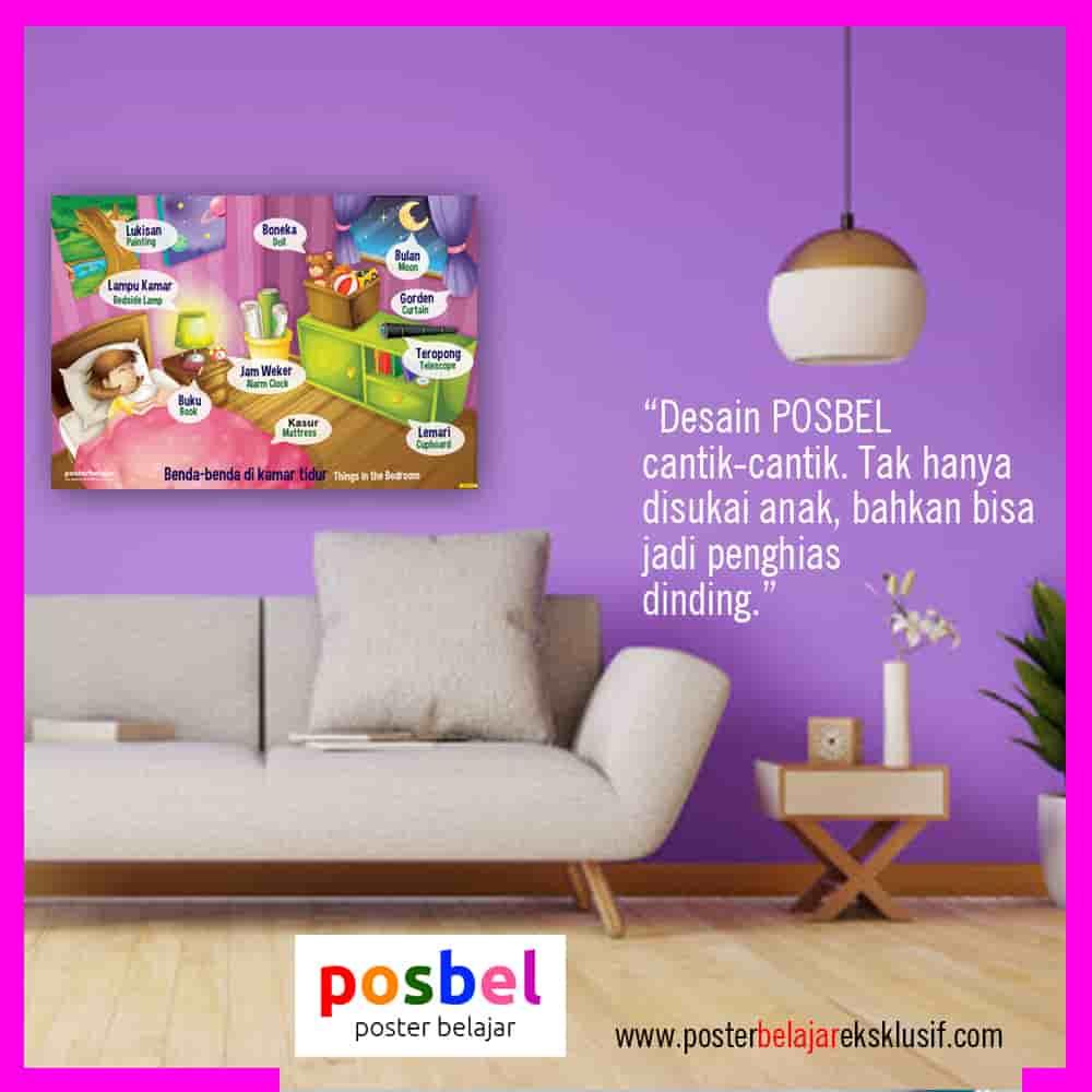 10 a benda di kamar 2 iklan dinding FB POSBEL poster belajar mainan edukasi edukatif dinding pendidikan anak perempuan laki laki PAUD TK SD-min