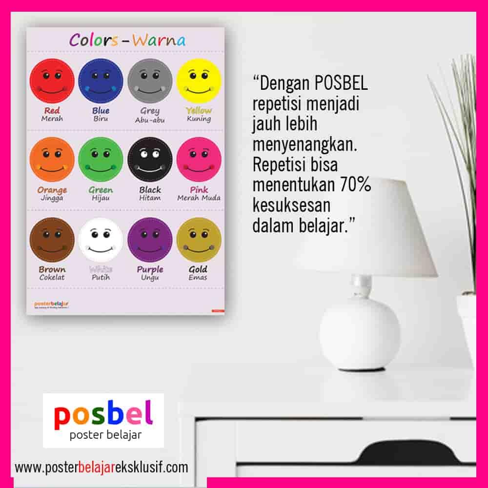 5 a warna iklan dinding FB POSBEL poster belajar mainan edukasi edukatif dinding pendidikan anak perempuan laki laki PAUD TK SD-min