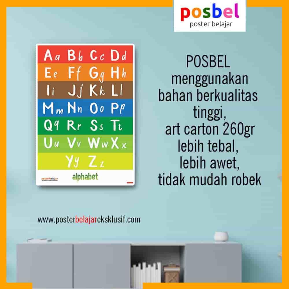 6 a alfabet 18 iklan dinding FB POSBEL poster belajar mainan edukasi edukatif dinding pendidikan anak perempuan laki laki PAUD TK SD-min