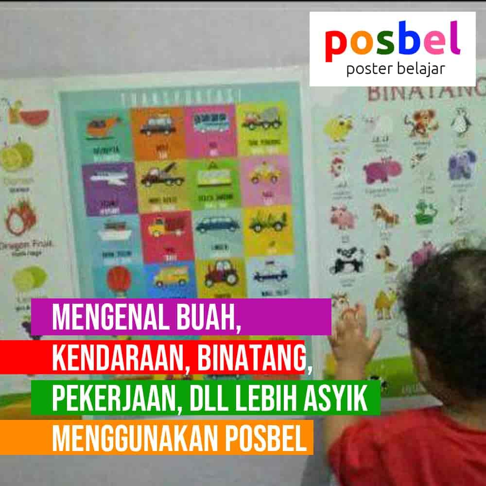 bagus 5 posbel mainan poster buku edukasi edukatif anak laki laki perempuan PAUD TK SD muslim alat peraga pendidikan-min