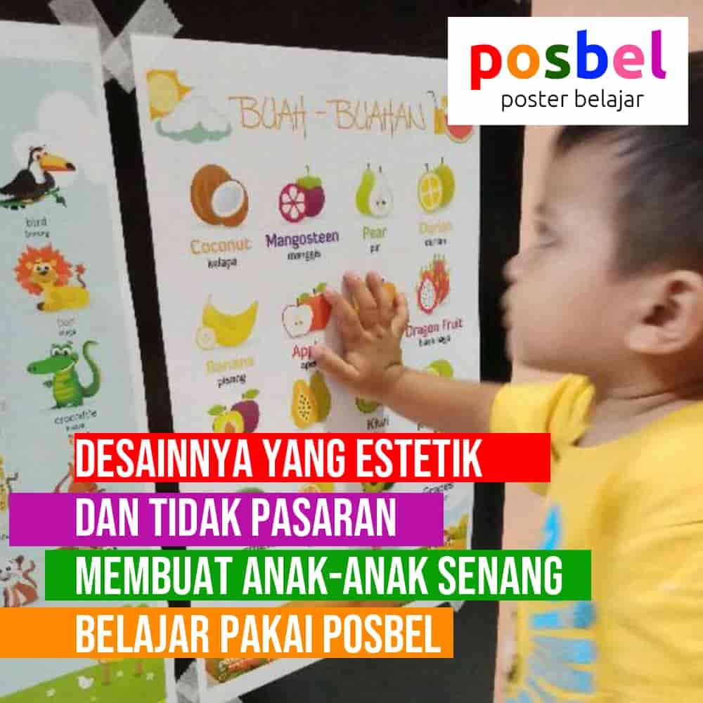 bagus 6 posbel mainan poster buku edukasi edukatif anak laki laki perempuan PAUD TK SD muslim alat peraga pendidikan-min