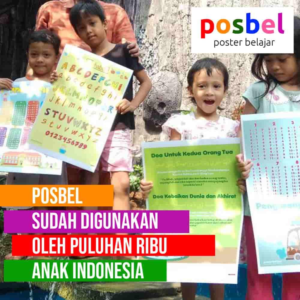 bagus 7 posbel mainan poster buku edukasi edukatif anak laki laki perempuan PAUD TK SD muslim alat peraga pendidikan-min