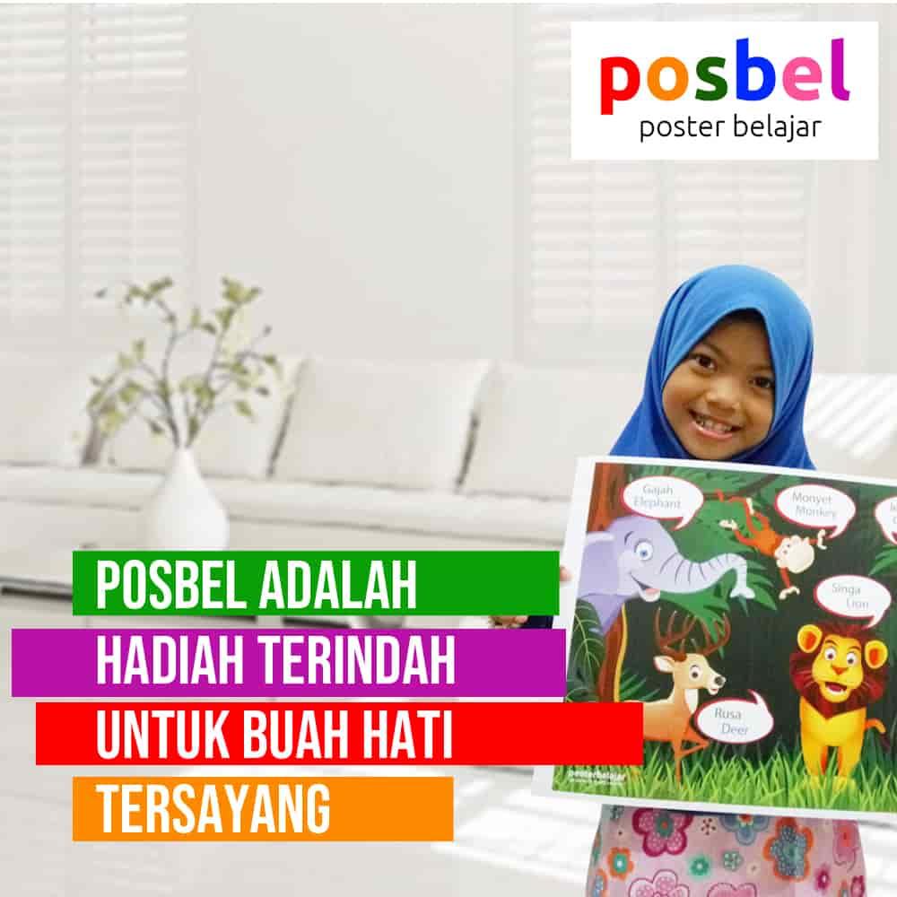 bagus 8 posbel mainan poster buku edukasi edukatif anak laki laki perempuan PAUD TK SD muslim alat peraga pendidikan-min