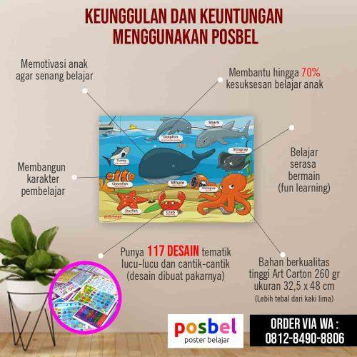 low res infografis konsumen keunggulan posbel poster pendidikan belajar anak